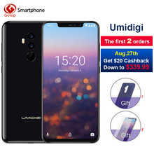 "Umidigi Z2 Pro Ceramic Edition 6GB RAM 128 ROM Mobile phone Helio P60 Octa Core 6.2"" Android 8.1 Four Camera 4G LTE Cell phone(China)"