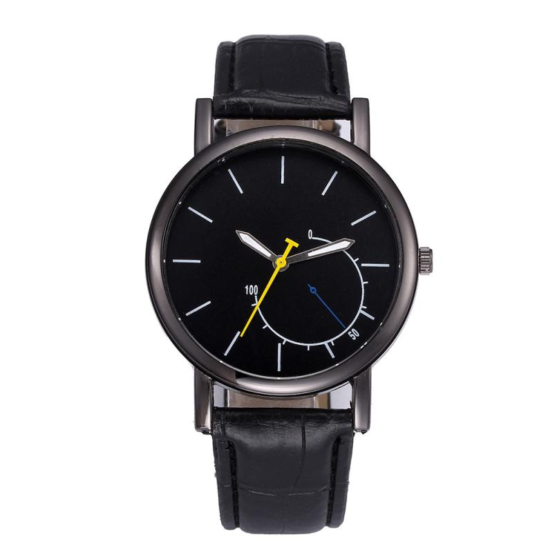 Relogio Feminino Fashion Watch Men Crystal Retro Design Luxury Men's Watch Stainless steel Leather Analog Clock Quartz Watches