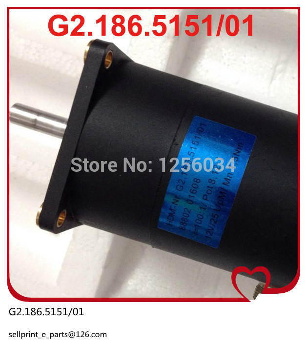 2 pieces free shipping motor for SM52 mahcine, motor for PM52 machine, heidelberg motor G2.186.5151/01 сумка printio boxer blue