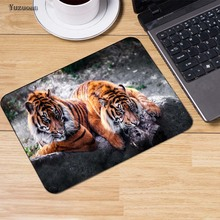 Yuzuoan Tiger ,Cat ,Wolf ,Dog Customized Animal Mouse Pad Computer Notebook Durable Non-slip Mice Mat Pad Size For 18*22CM