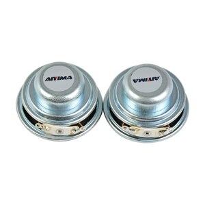 Image 3 - Aiyima 2 Pcs 5W 40 Mm Mini Audio Draagbare Luidsprekers 16 Core 4Ohm Full Range Speaker Rubber Side Ndfeb magnetische Luidspreker