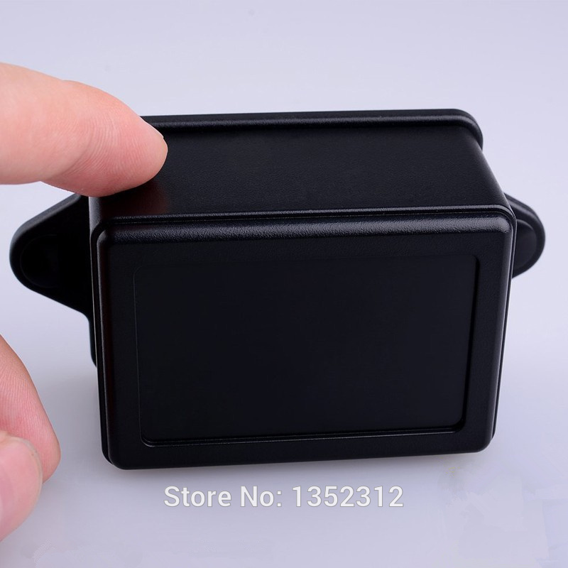 12 pcs/lot wall 70*50*40mm wall-mounted enclosure electronic plastic box PLC project box electricalcase waterproof junction box