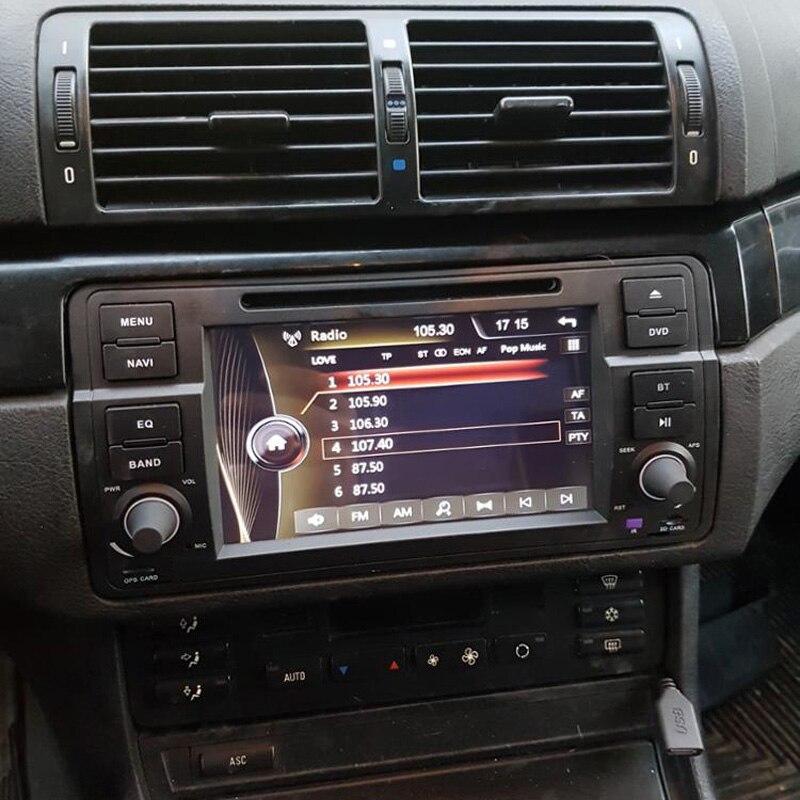 Zeniss 1 Din Car Dvd Gps For Bmw E46 M3 Radio Navigation Rhaliexpress: Bmw E46 Audio At Taesk.com