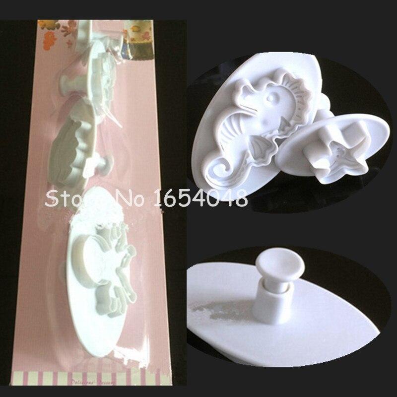 Neueste 4 Teile / los Kinder Schöne Octopus Seestern Seepferdchen - Küche, Essen und Bar - Foto 5