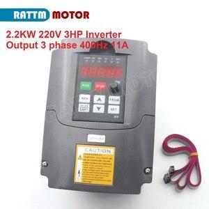 """Image 2 - CNC ציר ערכת מים מקורר 2.2KW ER20 220V + 2.2kw הי""""ד מהפך 220V + 80mm מהדק + 75W משאבת מים + צינור מים + ER20 Collets"""