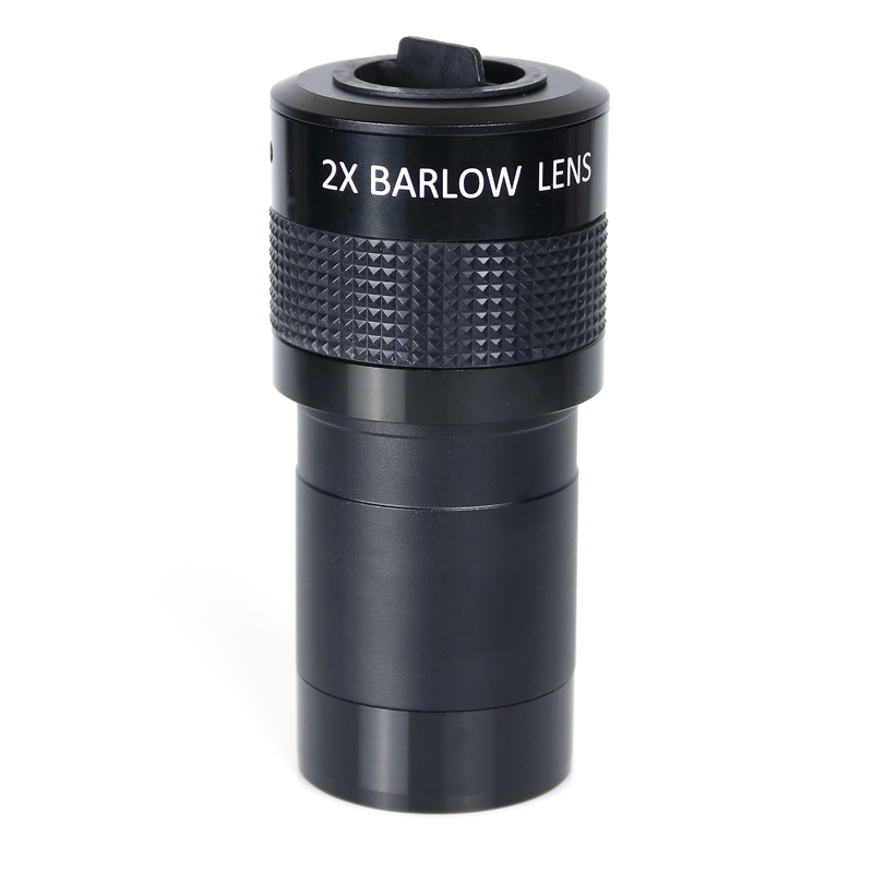 Datyson 2 Inch 2x ED Barlow Lens Multi-coated for Astronomic Telescope with 2 to 1.25  Adapter gso 1 25 3 element 2 5x barlow lens