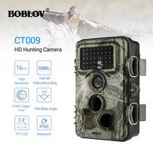 Wildlife Hunting Camera 16MP Trail Cameras Farm Security IR Night Vision Photo Traps IP66 Video Surveillance Outdoor Tracking цена и фото
