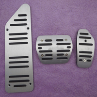 High Quality Non Slip Accelerator Gas Fuel Brake Foot Rest AT Pedal Pads For Nissan X