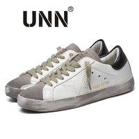 UNN New Brand Designer Goose Star Golden PU Leather Casual Shoes Men Sneakers Footwear Zapatillas Tenis