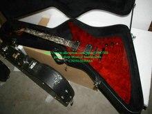 Neue Ankunft Sunburst Elektrische Gitarre mit fall Großhandelsgitarren Kostenloser Versand
