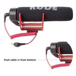 Image 4 - Orsda Ro de VideoMicro va sur caméra Microphone pour Canon Nikon Lumix Sony Smartphones gratuit Windsheild Muff/adaptateur câble