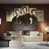 Unframed Wall Art Modular Pictures Cuadros Decoracion Supernatural TV Series Modern Paintings On Canvas Pictures For