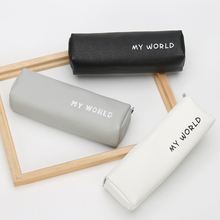 2017 hot pen box pouch bag bags school canvas pencil case vintage stationery printing large South Korea cute cheap