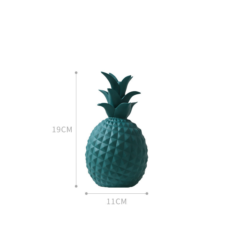 Pineapple Cactus Ceramic Statue 21
