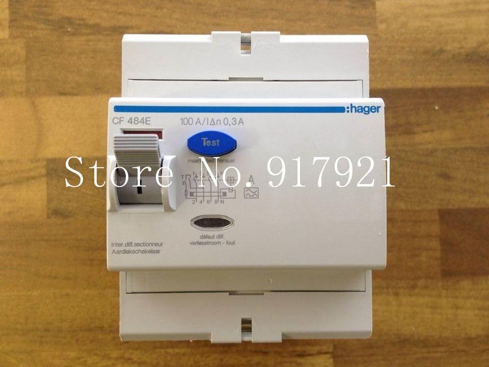[ZOB] Hagrid CF484E 4P100A circuit breaker 0.3A RCCB