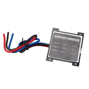 Image 2 - Supresor de ruido para coche eléctrico, dispositivo estéreo de 10 amperios, eliminador de filtro de ruido, alarma, condensador de potencia, aislador de bucle de tierra