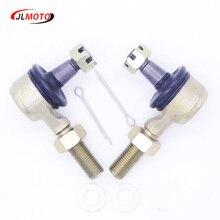 1 זוג M12 LH & RH יד חוט היגוי עניבת רוד סוף Fit עבור Kawasaki KFX450R סוזוקי R450 ימאהה רפטור YFZ450R YFM700 660 SF 500x6