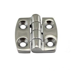 Image 3 - Stainless Steel Marine Hardware Door Butt Hinge Silver Cabinet Drawer Box Hinge Boat Accessories Marine