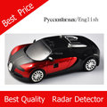 Voice Alert 360 degree car anti speed  Radar detector English and Russian option Whole sale price Blue and Red color available