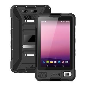 Image 2 - UNIWA V810 8 inç IPS 2in1 Tablet PC LTE Octa çekirdek Android 7.0 sağlam Tablet cep telefonu 2G 16GB cep telefonu IP67 su geçirmez NFC