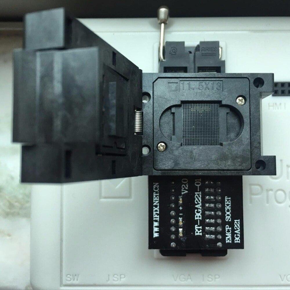 EMCP221 adaptateur de prise 11.5X13 pour programmeur RT809H