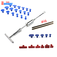 Hot Auto Body Dent Removal PDR KING Tool Slide Hammer PDR KING T Bar Puller Glue Tabs