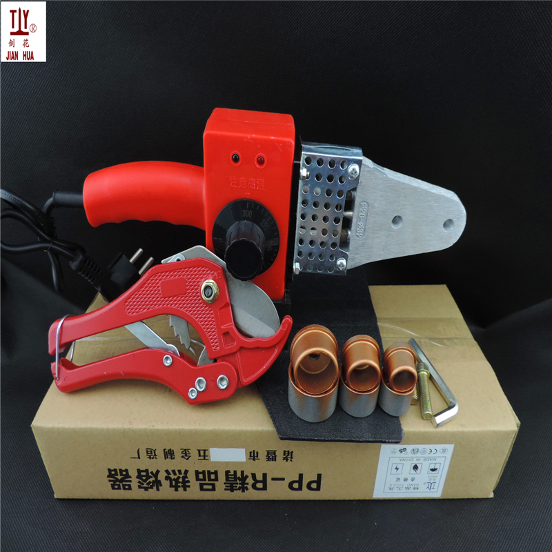 Apparatus For Welding Plastic Pipes, Welding Machine Maquina Termofusion Paper Box Package Temperature Controled 20-32mm