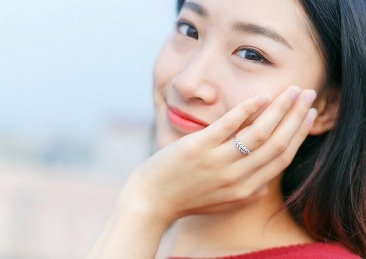 """""""Shuangshuo"""" nauji atvykimo sidabro žiedai moterims mergaitėms - Mados papuošalai - Nuotrauka 4"""