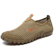 Casual Shoes Summer Shoes Men Breathable Mesh Flats Outdoor
