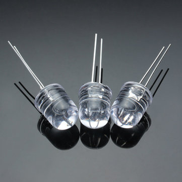 10pcs/lot Superbright 10mm Round White LED Light