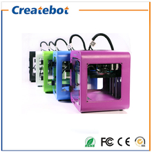 Createbot Newest Super Mini 3D Printer Touch Screen Popular Shape Metal Shell 3d printer kit with Favorable Price Free Shipping