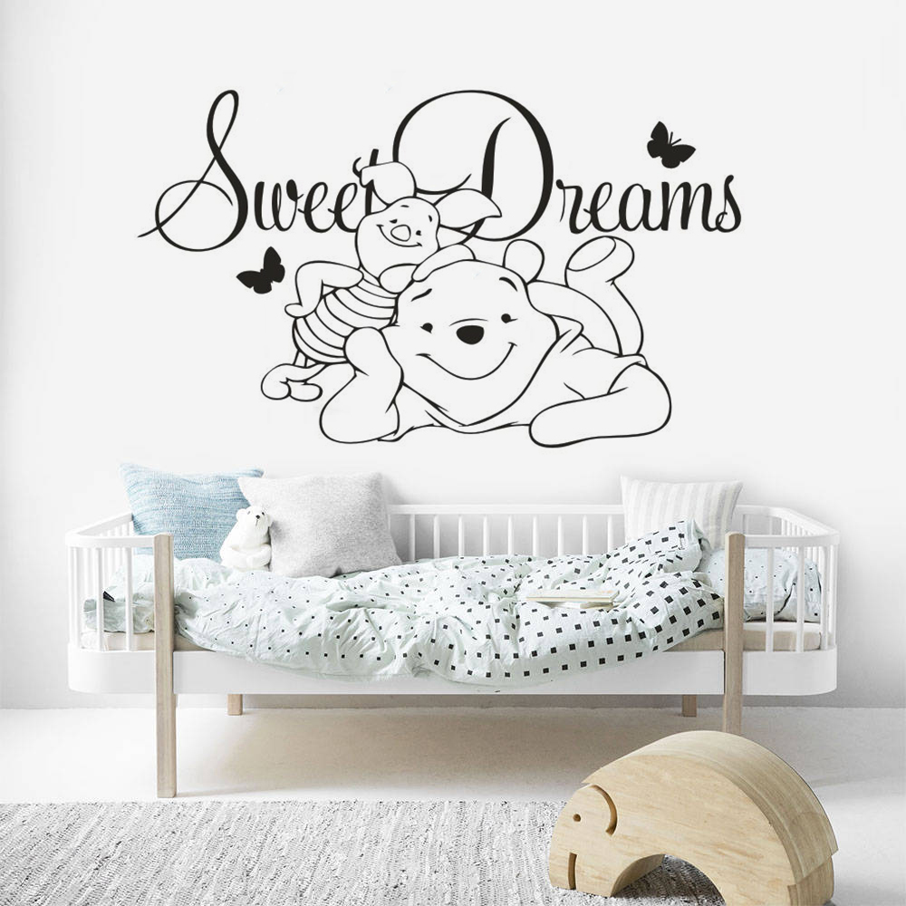 Cute baby Quotes by Winnie the poo  print wall art Home Decor choose your size.