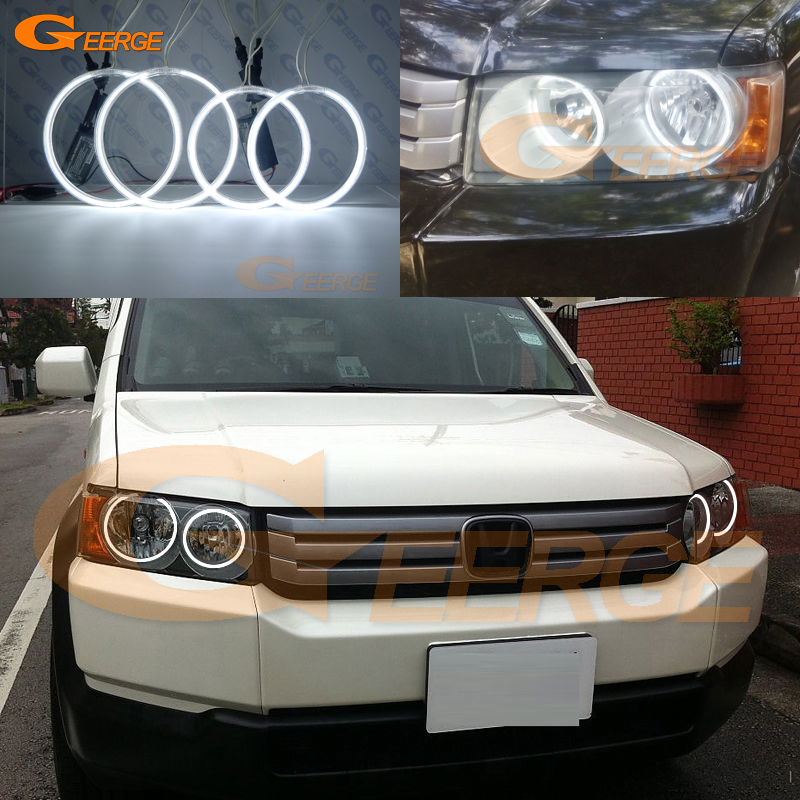 Pour Honda Crossroad 2008 2009 2010 Excellent Angel Eyes Illumination ultra brillante Kit yeux angel ccfl Halo Ring