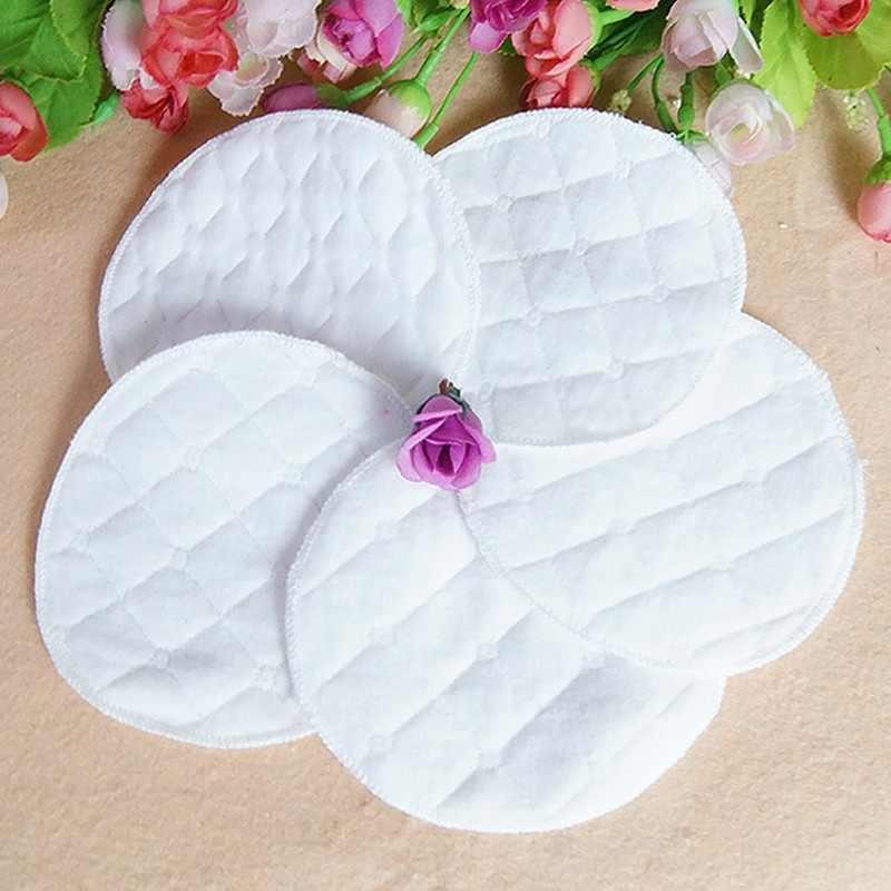 12 шт многоразовые грудные прокладки для кормящих моющиеся мягкие абсорбирующие Детские грудные вскармливающие водонепроницаемые прокладки 3 слоя чистого хлопка apda1a66