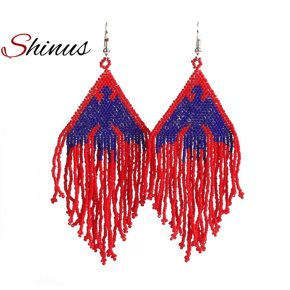 624463c3c953 Shinus 10 unids lote mexicano joya Miyuki Delica cuentas pulseras  accesorios joya Miyuki collar tejido