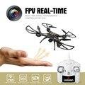 Brilham no Escuro FPV Mini RC Quadcopter Drone com Câmera ao vivo de Vídeo 4CH 2.4 GHz Sem Cabeça Helicóptero de Brinquedo de Presente para o Menino Adulto crianças