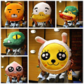 2016 Newest design Korea Cartoon faces Kakao frineds Kobito Ryan cushion Pillow 40*40cm Plush toys