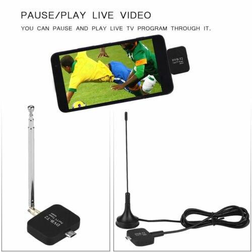דיגיטלי ATSC טלוויזיה מקלט מקל USB מקלט טלוויזיה שעון לחיות טלוויזיה על אנדרואיד טלפון Pad עבור אנדרואיד מיקרו usb