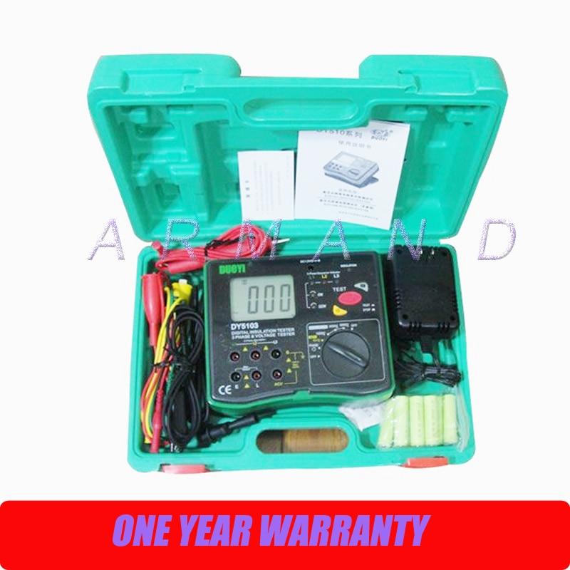 Testeur de résistance à l'isolation numérique DY5103