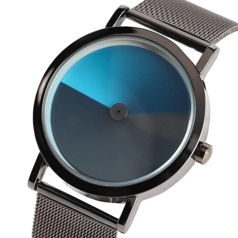 Outdoor Sport Turntable Pilot Men's Watches Trendy Colorful Dial Old School Creative Quartz Watches Christmas Xmas Gift