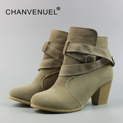 Winter big size women s boots pu suede leather cheap ankle boots for women chunky high.jpg 250x250