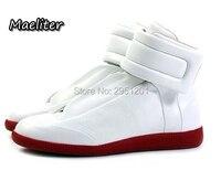 38-46 Роскошные Брендовые мужские туфли блестящие кожаные повседневные туфли мужские высокие серебристые золотые красные мужские повседнев...