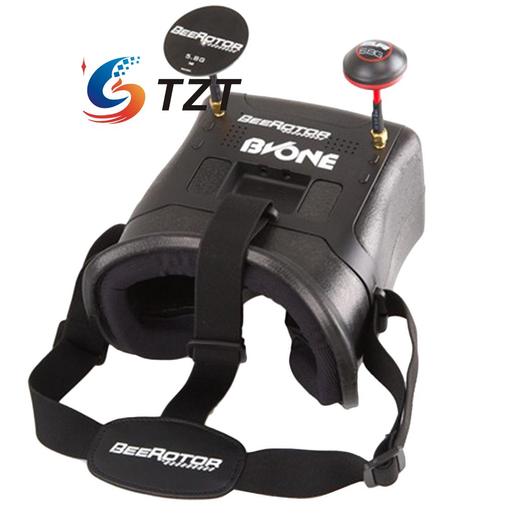 BVONE FPV Diversity font b VR b font Goggles 5 8G 40CH Video Glasses Headset for