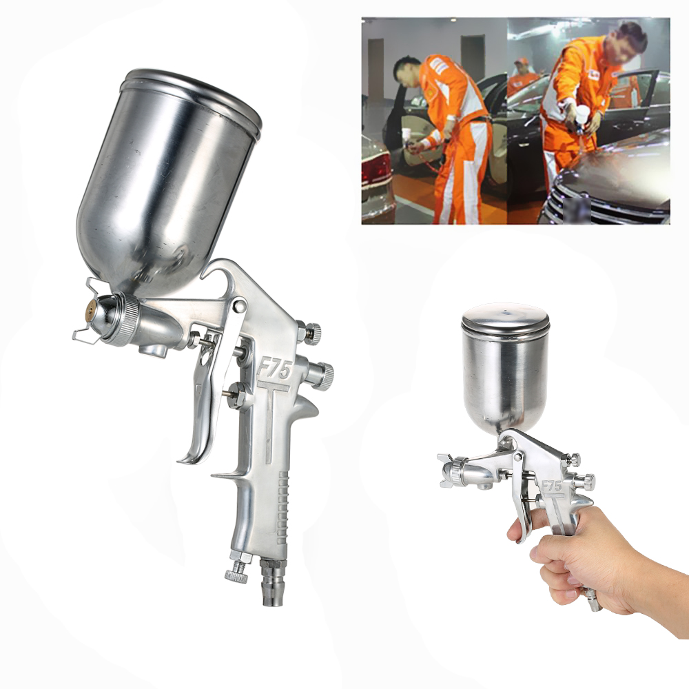 400ML Professional airbrush Set Gravity Feed Spray Gun Paint gun 1 5mm Nozzle spray paint Auto Cars Painting for Spot Repair in Spray Guns from Tools