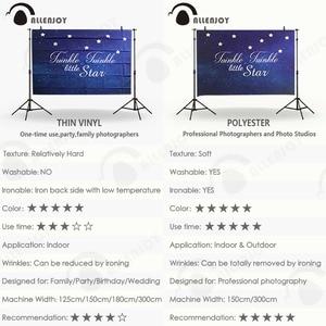 Image 5 - Allenjoy sfondo fotografico Spazio blu stelle brillano foto fondali per la vendita photography fantasia tessuto del vinile photocall