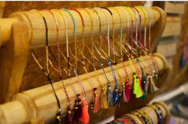 KELITCH 10 Pcs Multicolor rumbai Benih Beaded Gelang Handmade - Perhiasan fashion - Foto 3