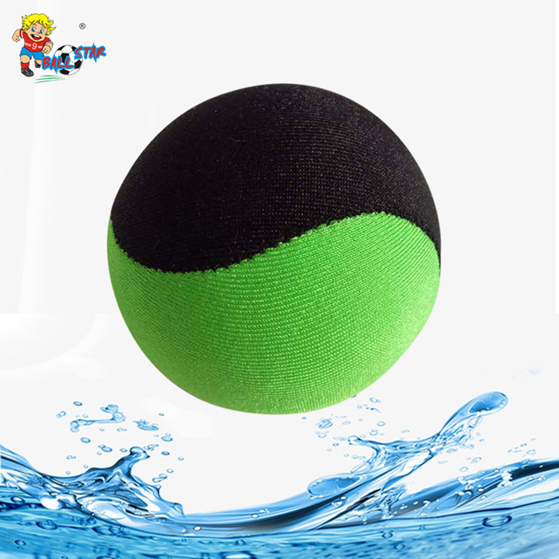 TPR Water Bouncing Ball Kids Adult Beach Seaside Pool Play Water Balloo Bunch Office Hand Treatment Stress Massage Ball Toys