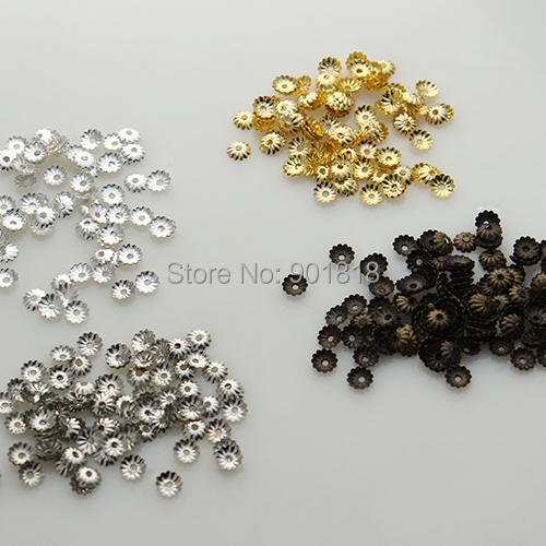 Gold Plated Silver Antique Beads: Aliexpress.com : Buy 1000 Pc/lot Gold/Antique Bronze