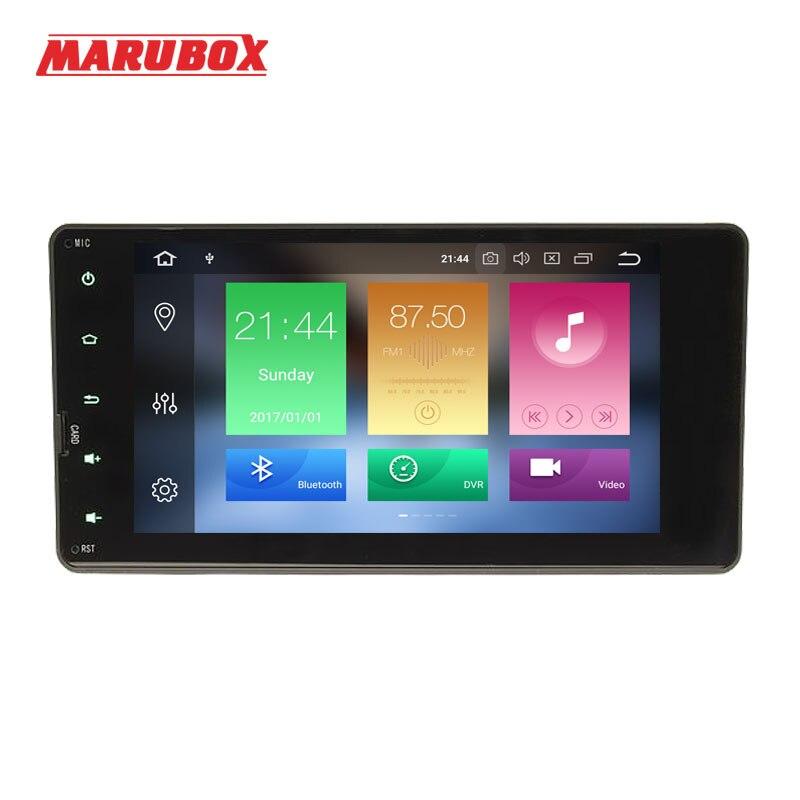 MARUBOX Tête Unité 2Din Android 8.0 4 gb RAM Pour Mitsubishi Outlander 7 IPS GPS Navi Stéréo Radio De Voiture multimédia Lecteur 7A717PX5