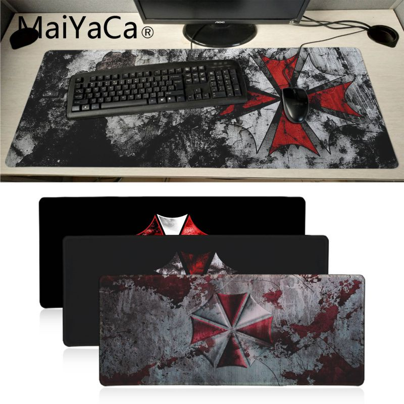 MaiYaCa  Umbrella Customized Laptop Gaming Mouse Pad BIG SIZE Rubber Game Mouse Pad For Dota2 Game Player